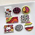 Boutons Sixties / Sixties Buttons