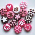 Mini-boutons Petite Princesse