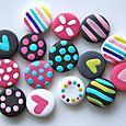 Mini-boutons Girly