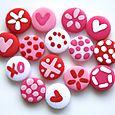 Mini-boutons Amour Fou