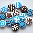 Mini-boutons Neige