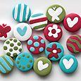 Mini-boutons Sentiments - Mini Buttons: Feelings