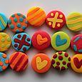 Mini-boutons Petits Monstres
