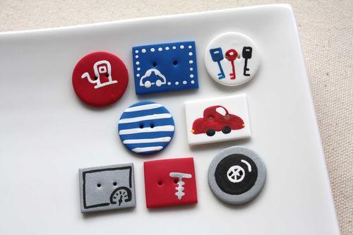 Boutons Bazou / Cars Buttons