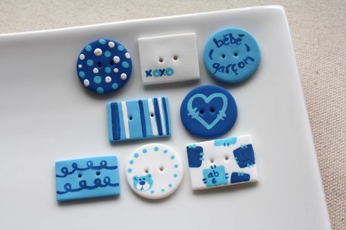 Boutons Bébé Garçon / Baby Boy Buttons