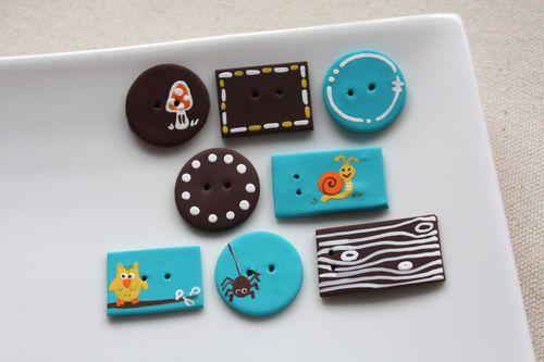 Boutons Petites Bibittes / Little Critters Buttons