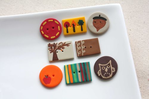 Boutons Automne / Autumn Buttons