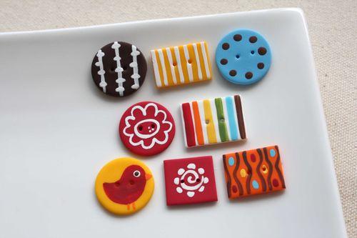 Boutons Petit Moineau / Little Sparrow Buttons