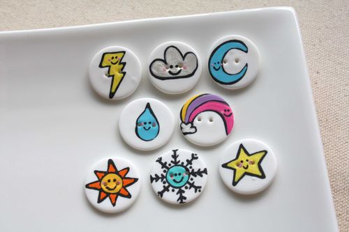 Boutons Cute! / Cute Buttons