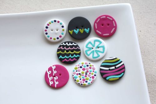 Boutons Girly / Girly Buttons