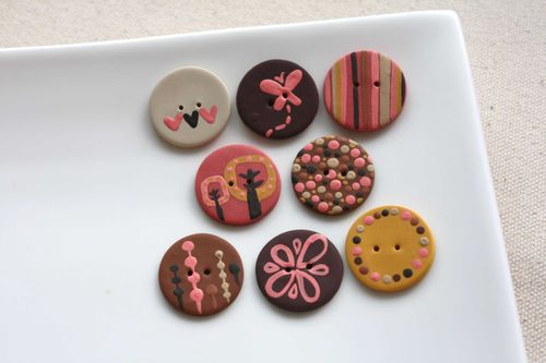Boutons Grand-Mère / Granny Buttons